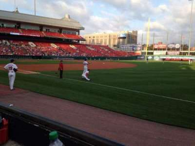 Coca-Cola Field, section: 120, row: C, seat: 4