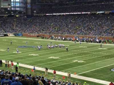 Ford Field, section: 133, row: 36, seat: 11