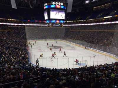 First Niagara Center, section: 200, row: 1, seat: 13