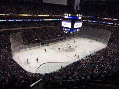 First Niagara Center, section: 324, row: 8, seat: 1