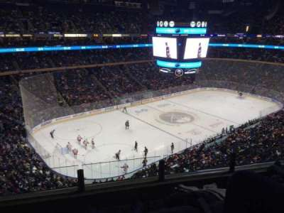 First Niagara Center, section: 309, row: 3, seat: 11