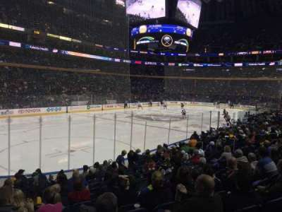 First Niagara Center, section: 109, row: 13, seat: 24