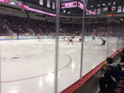 Agganis Arena, section: 105, row: B, seat: 13