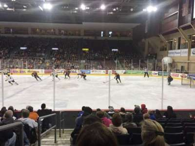 Erie Insurance Arena, section: 121, row: J, seat: 14