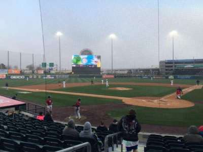 Coca-Cola Field, section: 101, row: K, seat: 14