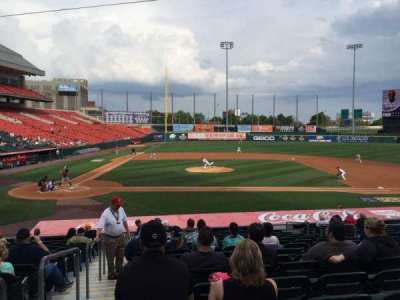 Coca-Cola Field, section: 112, row: R, seat: 18