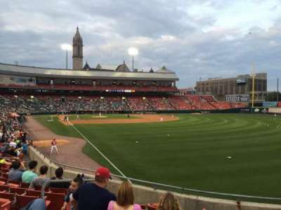 Coca-Cola Field, section: 128, row: Q, seat: 7
