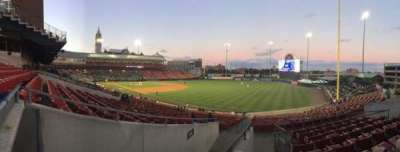 Coca-Cola Field, section: 124, row: HH, seat: 12