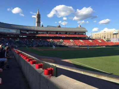 Coca-Cola Field, section: 124, row: D, seat: 2