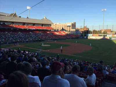 Coca-Cola Field, section: 118, row: HH, seat: 1