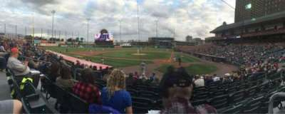 Coca-Cola Field, section: 105, row: K, seat: 8