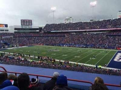 New Era Field, section: 207, row: 4, seat: 21