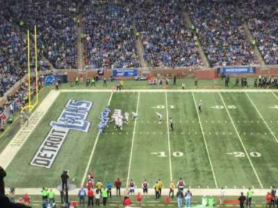 Ford Field, section: 204, row: 17, seat: 5