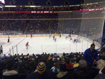 First Niagara Center, section: 104, row: 19, seat: 1