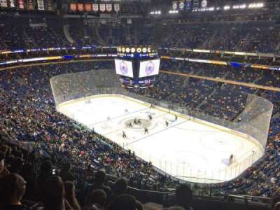 KeyBank Center, section: 303, row: 12, seat: 1