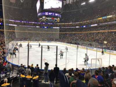 KeyBank Center, section: 112, row: 12, seat: 11