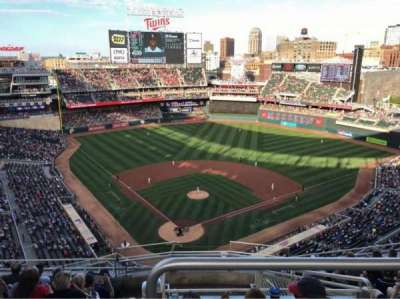Target Field, section: 314, row: 9, seat: 1
