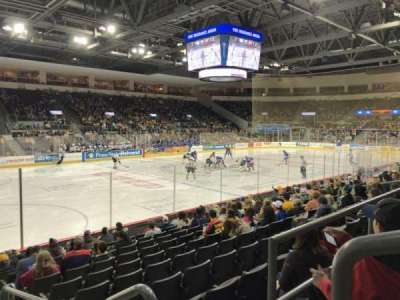 Erie Insurance Arena, section: 201, row: L, seat: 1