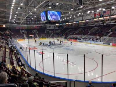 Hershey Centre, section: 12, row: J, seat: 101