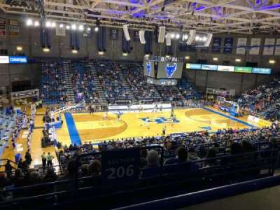 Alumni Arena (University at Buffalo), section: 308, row: A, seat: 9