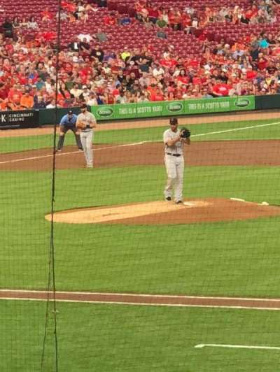 Great American Ball Park section 131