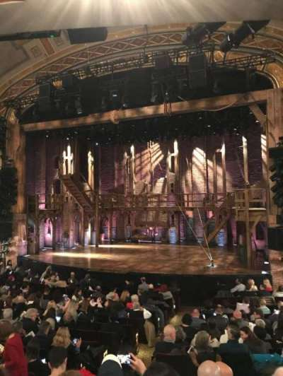 Richard Rodgers Theatre, section: Orch, row: P, seat: 8-10
