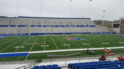 Joe Aillet Stadium, section: F, row: L, seat: 15