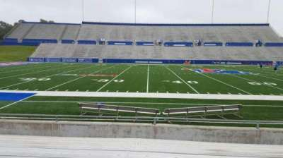Joe Aillet Stadium, section: F, row: 9, seat: 13