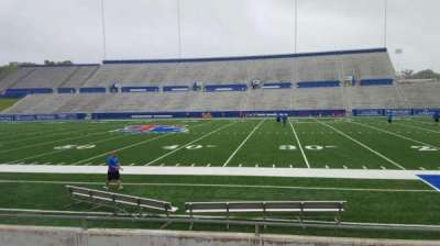 Joe Aillet Stadium, section: D, row: 8, seat: 5