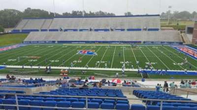 Joe Aillet Stadium, section: DD, row: 41, seat: 9