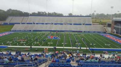 Joe Aillet Stadium, section: DD, row: 46, seat: 25