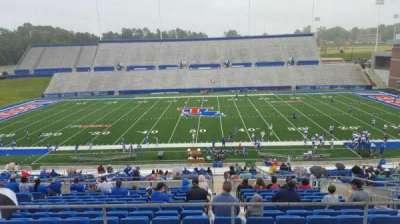 Joe Aillet Stadium, section: EE, row: 41, seat: 8