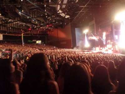 Xfinity Arena, section: 400, row: Kk, seat: 430