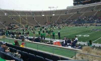 Notre Dame Stadium, section: 27, row: E, seat: 23