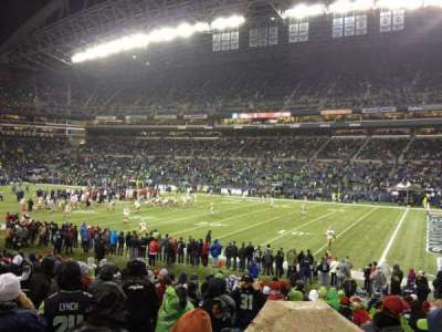 CenturyLink Field, section: 105, row: S, seat: 5
