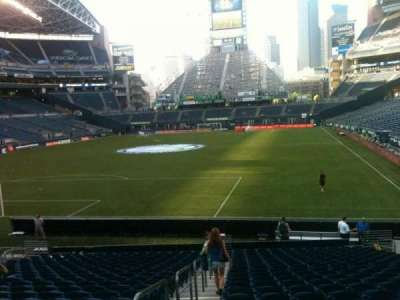 CenturyLink Field, section: 119, row: X, seat: 13