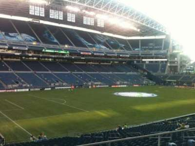 CenturyLink Field, section: 214, row: A, seat: 18