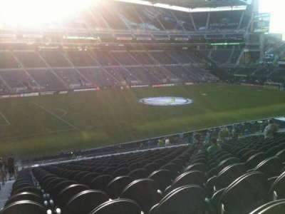 CenturyLink Field, section: 213, row: W, seat: 20