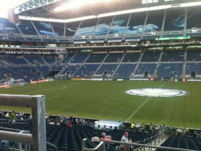 CenturyLink Field, section: 208, row: A, seat: 16