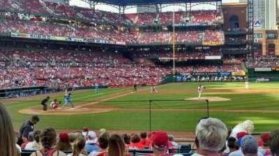 Busch Stadium, section: 145, row: 7, seat: 8