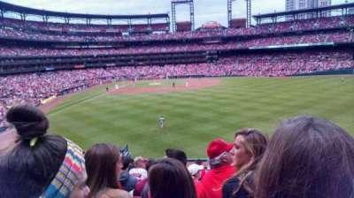 Busch Stadium, section: 109, row: 30, seat: 12