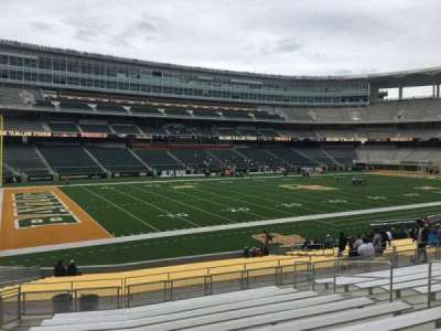 McLane Stadium, section: 129, row: 26, seat: 12