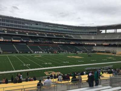 McLane Stadium, section: 128, row: 23, seat: 16