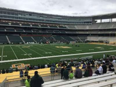 McLane Stadium, section: 127, row: 23, seat: 23