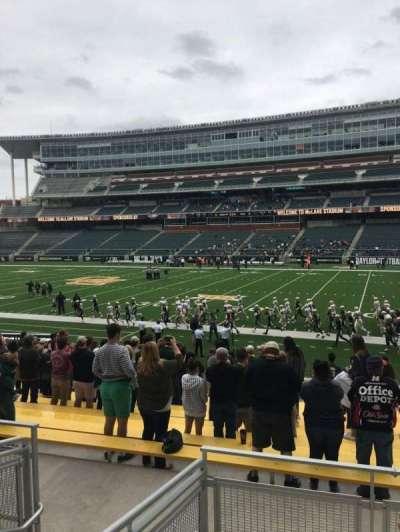 McLane Stadium, section: 121, row: 18, seat: 19