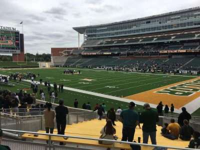 McLane Stadium, section: 119, row: 18, seat: 10