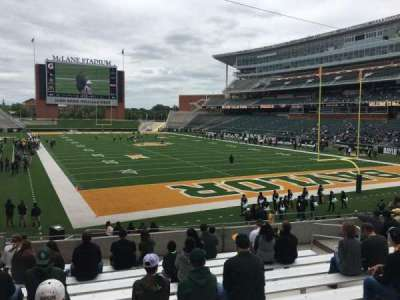 McLane Stadium, section: 117, row: 21, seat: 12