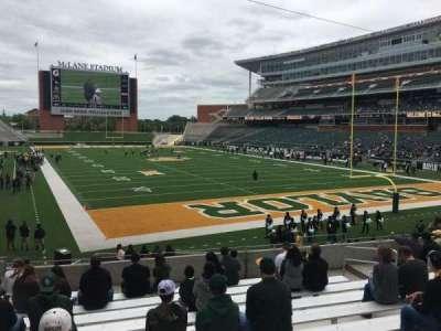 McLane Stadium, section: 117, row: 21, seat: 12