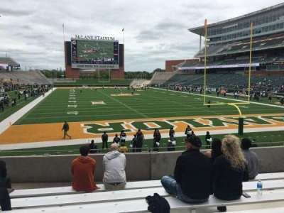 McLane Stadium, section: 116, row: 18, seat: 19