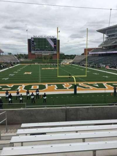 McLane Stadium, section: 115, row: 19, seat: 32